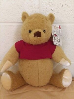 NWT Disney Store 2018 Christopher Robin Movie Winnie the Pooh Jointed Plush 17""