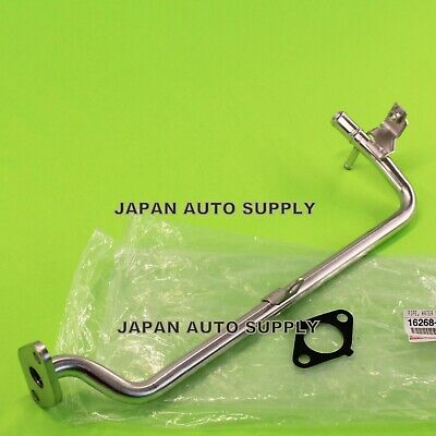 NEW OEM TOYOTA 05-15 Tacoma 2.7L WATER BYPASS PIPE METAL w/ GASKET 16268-75110