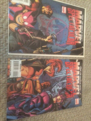 Marvel Assistent-sized Spectacular # 1-2 komplette Mini-Serie
