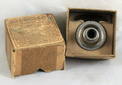 Early Edison Model C Reproducer and Box
