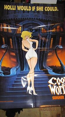 "Cool World Animated Movie Poster 27"" ZX 39"""