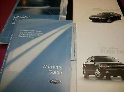 09 2009 ford taurus owners manual 16 95 picclick rh picclick com 2008 ford taurus owners manual 2008 ford taurus owners manual