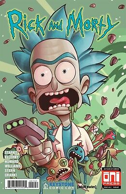 Rick & Morty 41 Christie Zullo Keystone Comic Con 2018 Variant Nm Connects Nycc