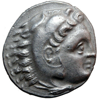 Greek Coin Uncertain Mint Alexander The Great Silver Drachm 336-322 Bc