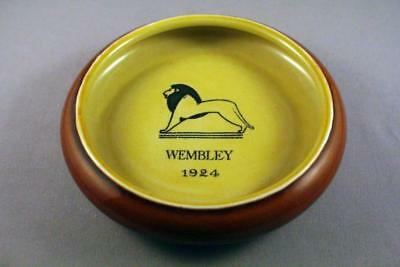 Fantastic Bourne Denby Wembley Exhibition 1924 Commemorative Ashtray - Perfect