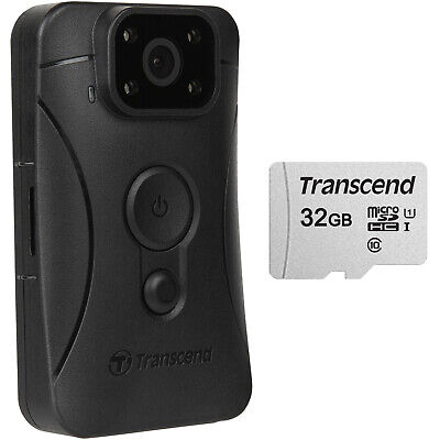 Transcend DrivePro Body 10 1080p HD Video Camera Camcorder