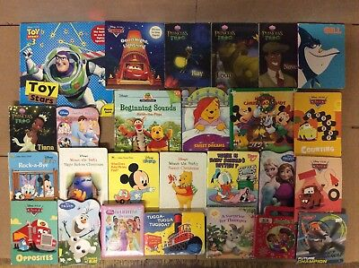 Lot of 25 Disney Board Toddler Hardcover Picture DayCare Child Book UNSORTED E94
