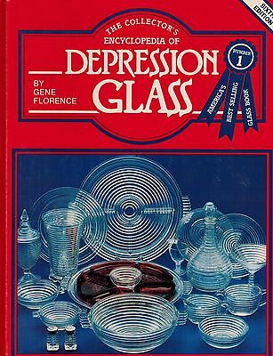 Collectors' Encyclopedia of Depression Glass by Gene Florence (1983, Hardcover)