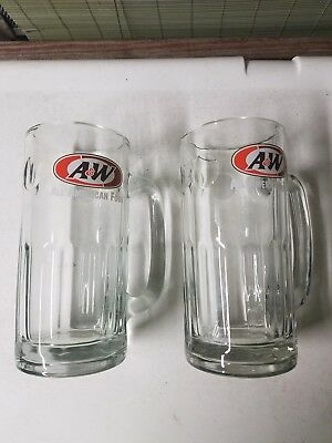 A&W Rootbeer Glass All American Food Mugs