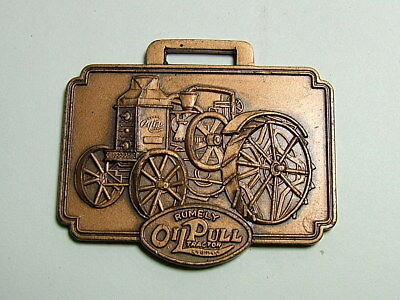 Rumely Oil Pull Tractor Watch Fob...Laporte Indiana