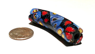 Rare Antique Venetian Multi-Murine Elbow African Glass Trade Bead