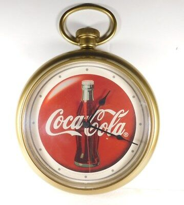 Coca Cola   Wall Clock With  Sweep Second Hand--Runs Great