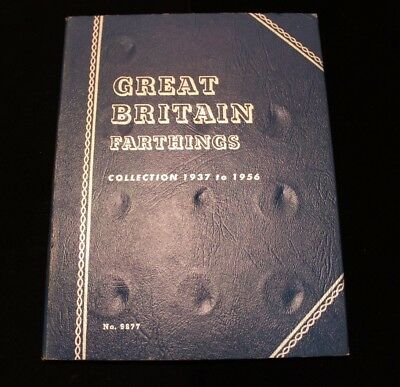 ***ONLY MISSING A FEW*** 1937-1956 Great Britain Farthings Book (CC3401)