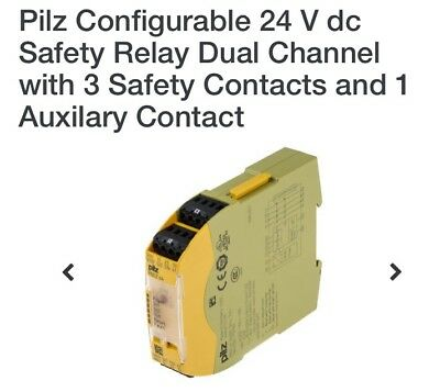 Pilz PNOZ S4 24VDC Safety Relay