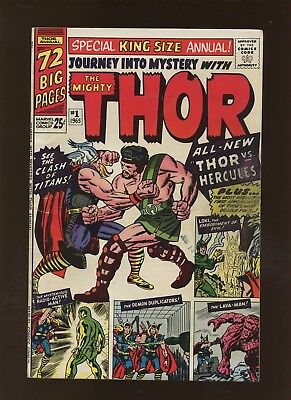 Journey Into Mystery Annual 1 FN 5.5 * 1 Book Lot * Thor! Stan Lee & Jack Kirby!