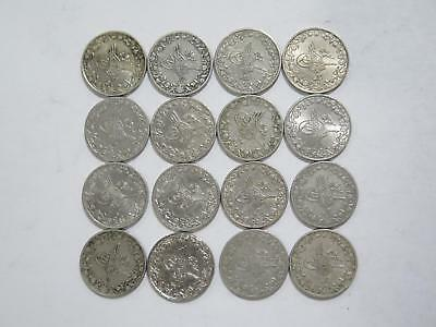 Egypt Ottoman Empire 1/10 Qirsh Mixed Date Cn Type World Coin Collection Lot #l