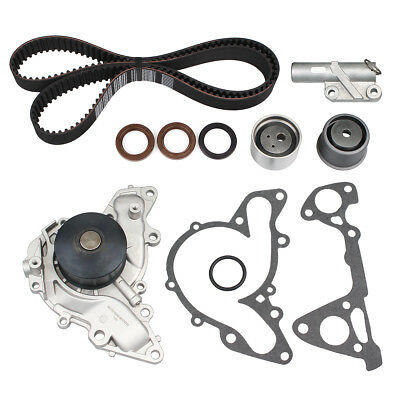 Timing Belt Kit Hydraulic Tensioner Water Pump for 95-05 Chrysler Mitsubishi V6