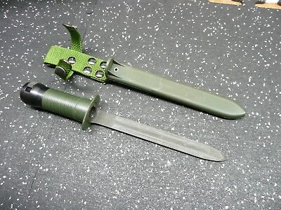 Swiss Army Bayonet for SIG Swiss Rifles & Export models, 1960's era Surplus