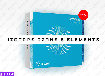 iZotope Ozone 8 Elements Plugin VST/AU/AAX Instant eDelivery