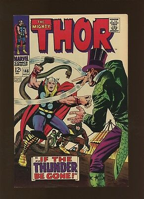 Thor 146 NM 9.2 * 1 Book Lot * Inhumans! Circus of Crime! Stan Lee & Jack Kirby!
