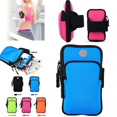 Sports Jogging Running cell Phones Armband Case Cover Arm Band Pouch Holder Bag