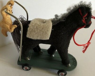 2008 Hallmark  A Pony For Christmas Special Edition Series Ornament Mib New