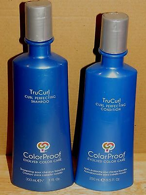 Colorproof Trucurl Curl Perfecting Shampoo & Conditioner Color Proof