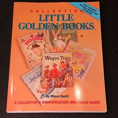 Price Guide COLLECTING LITTLE GOLDEN BOOKS by Steve Santi