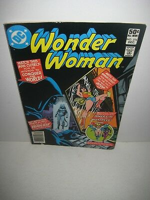 WONDER WOMAN #274 1980-DC COMICS-First appearance Cheetah (Deborah Domaine)
