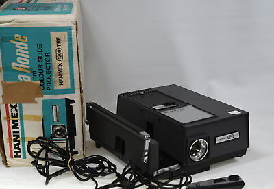 Hanimex 1200 TFR La Ronde 35mm Slide Film Projector with Timer
