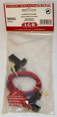 LGB 50160 G gauge Track to pack wires connectors hook track power connection NIP