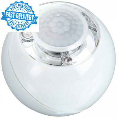 GEV LLL728 000728 LED Light Ball with 120° Motion Sensor and Dimmer Switch...