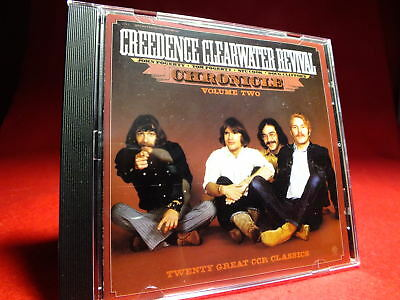 CREEDENCE CLEARWATER REVIVAL Chronicle Vol. 2 THE GREATEST HITS Fantasy CD TOPP*