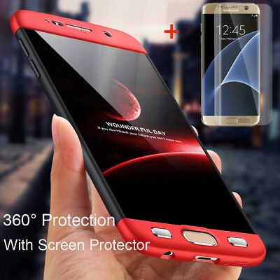 360° Full Protection Cover Shockproof Hard Armor Case For Samsung Galaxy S7/Edge