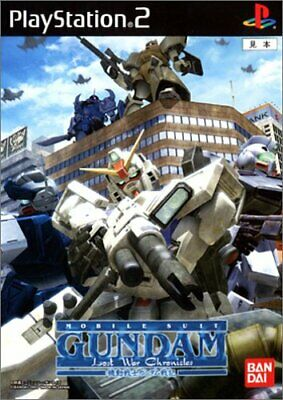 USED ​​PS2 Mobile Suit Gundam: Lost War Chronicles