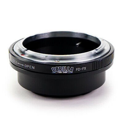 GFG Lens Mount Adapter - Canon FD Lens to Fujifilm X-mount Camera Fuji FX