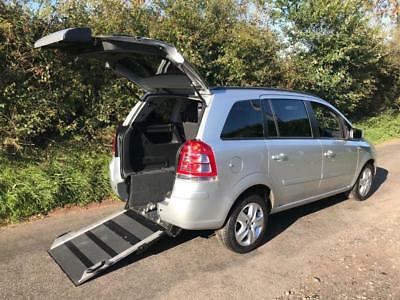 2013 Vauxhall Zafira 1.8i Exclusiv 5dr WHEELCHAIR ACCESSIBLE VEHICLE 5 door W...