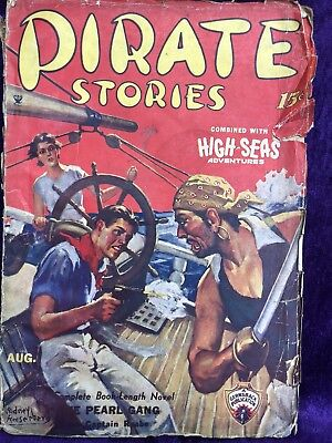 Pirate Stories Pulp Magazine