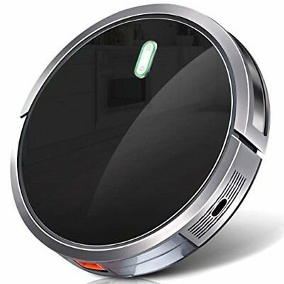 Robot Vacuum Cleaner 2600mAh Battery Drop-Sensing with 1400Pa Strong Suction