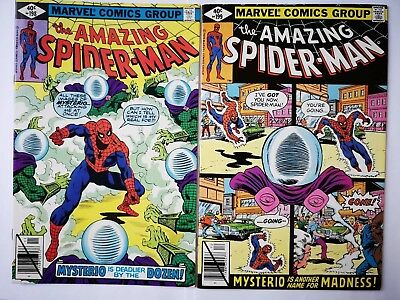 Marvel comics Amazing Spiderman 198 and 199 both FN/NM-