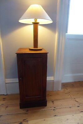 Victorian Pine Cupboard / Bedside Table