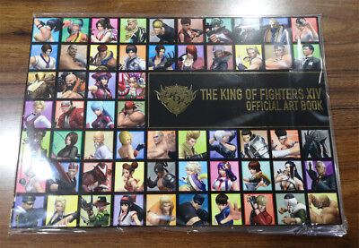 King of Fighters XIV 14 Official Art Book SNK Japan Limited Edition Promo TGS