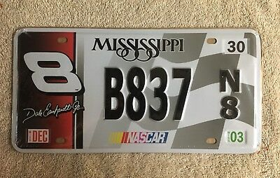 Replica Reproduction NASCAR Dale Earnhardt License Plate See My Store