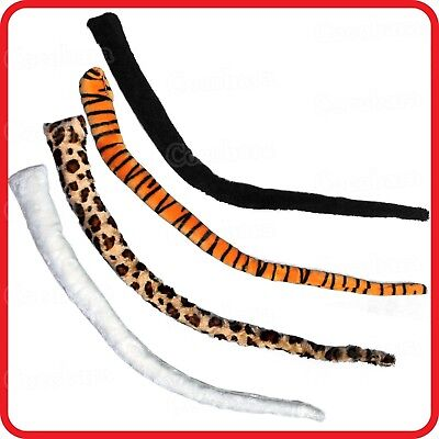 85Cm Jumbo Large Long Animal Tail-Tiger-Leopard-Cat-Dog-Dress Up-Costume-Party