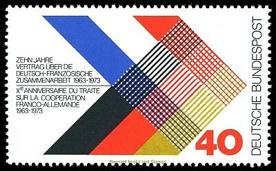 EBS Germany 1973 German-French Co-Operation Michel 753 MNH**