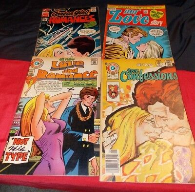 Love & Romance #15 Teen Confessions 95 Our Love Story 15 Career Girl Romances#73