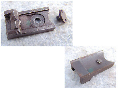 Rear Sight Trapdoor 1863 50-70 Us Springfield Rifle