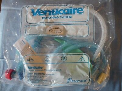 2 Venticaire Breathing system Paediatric Mapleson F Ayres T-Piece (1.6m)