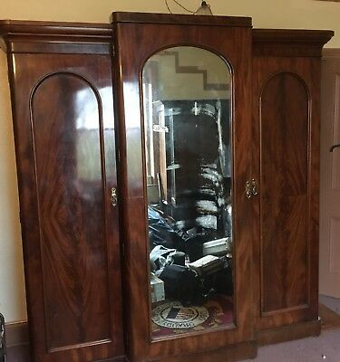 antique large wardrobe