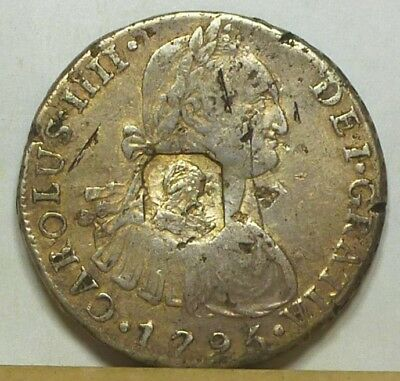 Great Britain Counterstamped Dollar ND (1797) Very Fine NO RESERVE